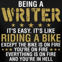 being-a-writer-its-easy-its-like-riding-a-bike-men-s-t-shirt