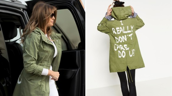 Melania-Trump-Sports-Jacket-That-Reads-I-DONT-REALLY-CARE-to-Visit-Border-Detention-Centers